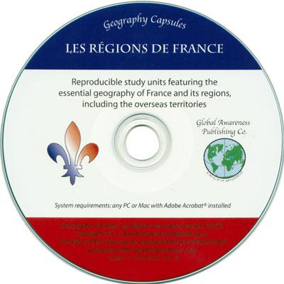 Les Régions de France CD