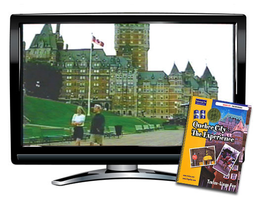 Quebec City The Experience DVD & Book English