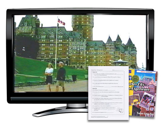 Quebec City The Experience French Book/DVD