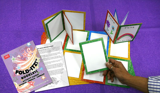Fold-Itz Activity Guide and 30 Booklets