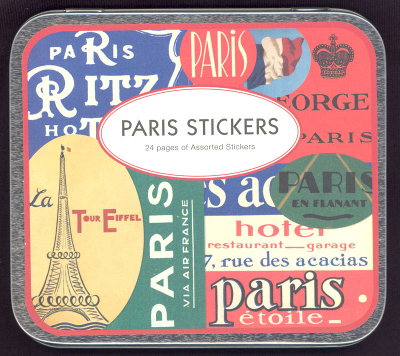 Decorative Paris Sticker