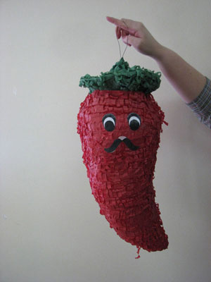 Chili Peppers Pinata