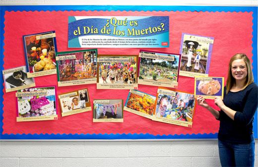 ¿Qué es el Día de los Muertos? Bulletin Board Set