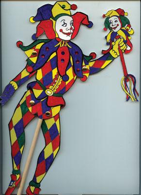Mardi Gras String Puppet Kit