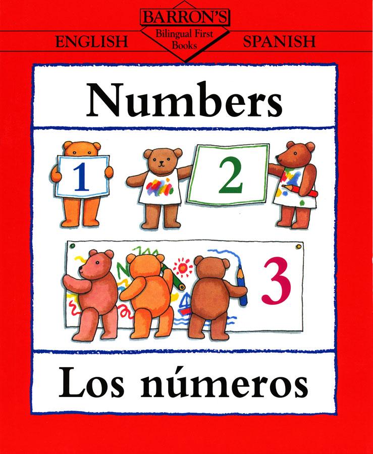 Numbers English/Spanish Book