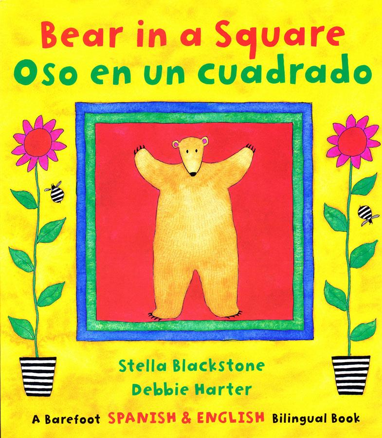 Oso en un Cuadrado Bilingual Book