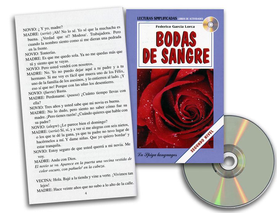 Bodas de Sangre Spanish Reader + Audio CD Segundo Nivel
