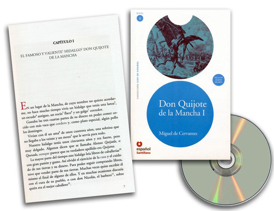Don Quijote de la Mancha I Spanish Reader + Audio CD Nivel 3