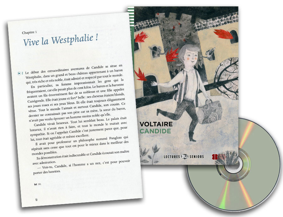 Candide French Reader + Audio CD Lectures Seniors Niveau 2