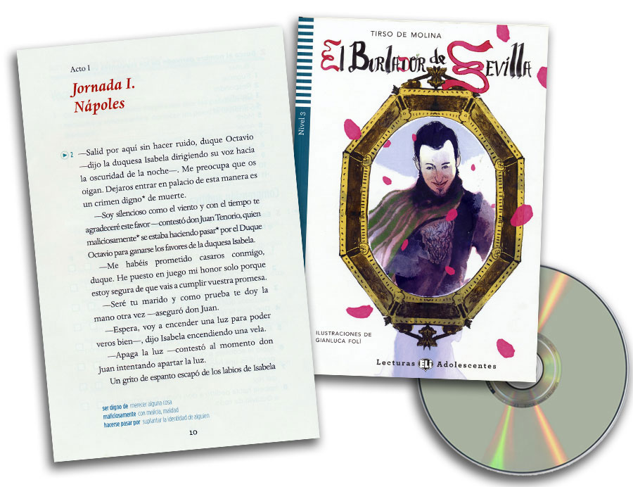 El burlador de Sevilla Spanish Reader + Audio CD Lecturas Adolescentes Nivel 3