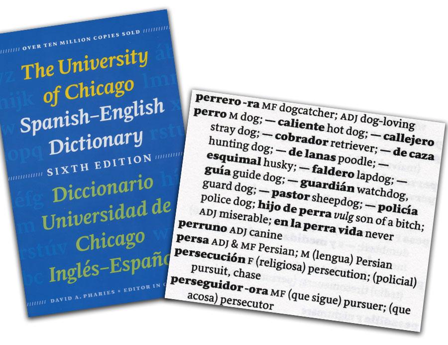 Spanish University of Chicago 6th Ed Dictionary