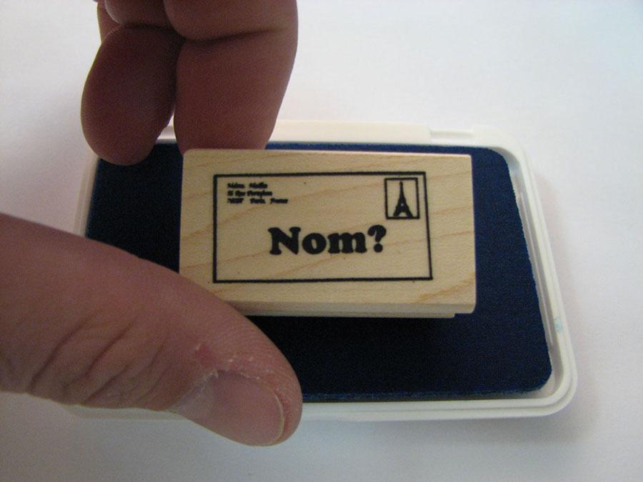 Nom French Stamper