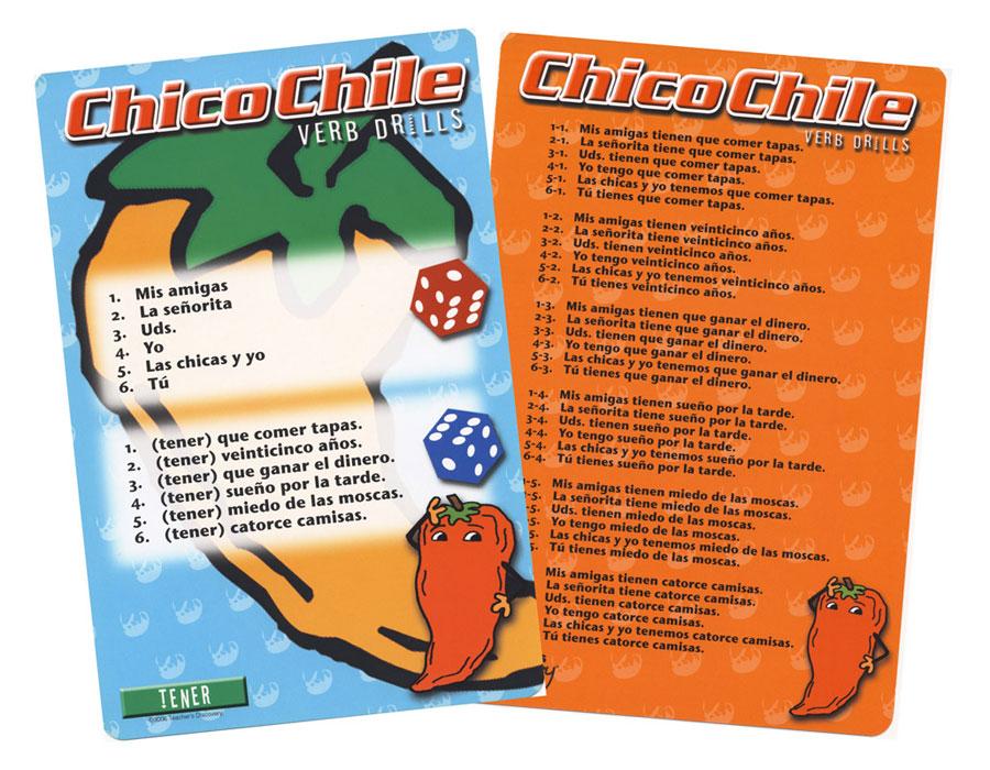 Chico Chile Tener Present Tense Game