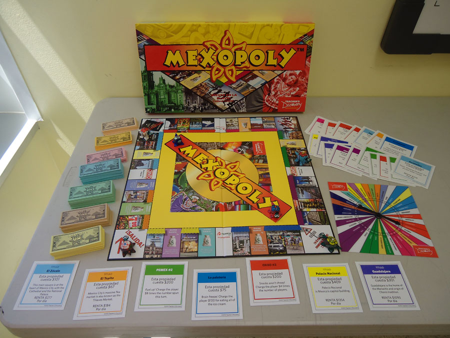 Mexopoly Board Game