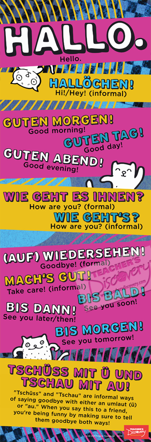 Hello Skinny Poster German