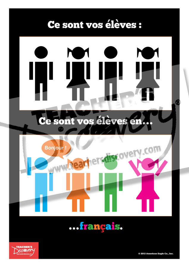 Your Students On French Mini Poster