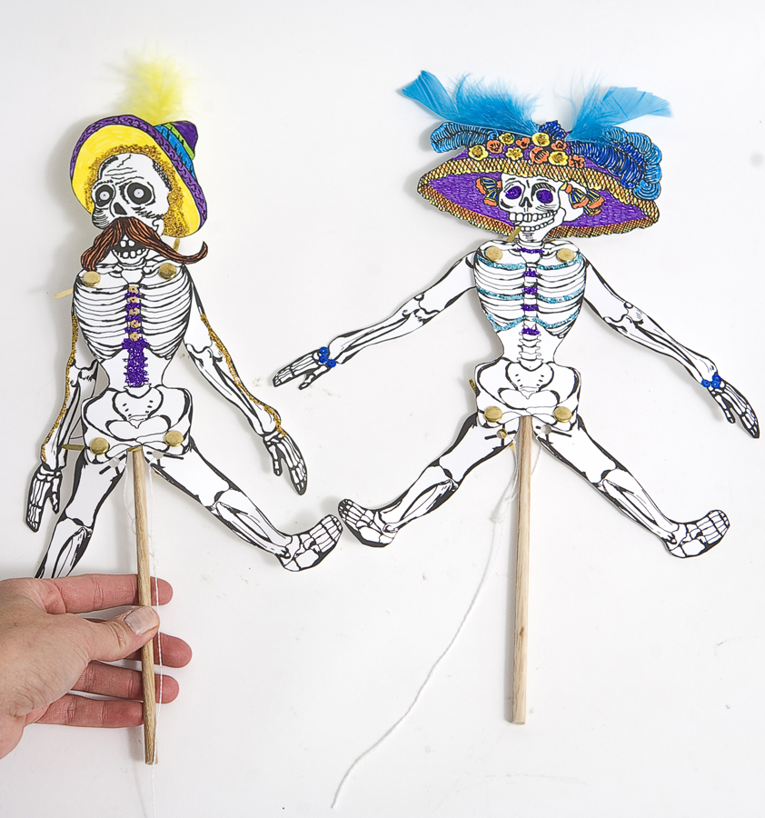 Day of the Dead String Puppets