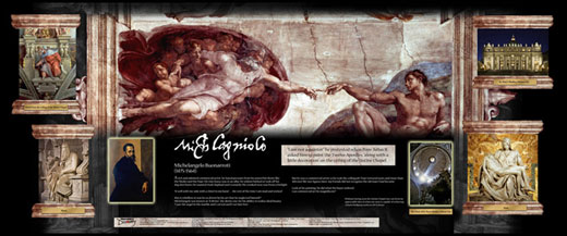 Michelangelo Traveling Exhibit