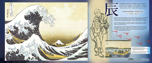 Hokusai Traveling Exhibit