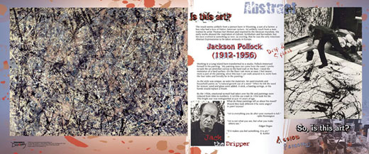 Jackson Pollock Traveling Exhibit