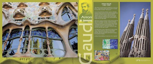 Antoni Gaudi Traveling Exhibit