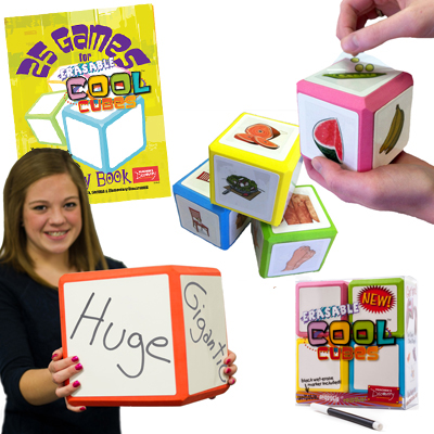 Spanish Mega Set! Erasable Cool Cube™ Set of Everything