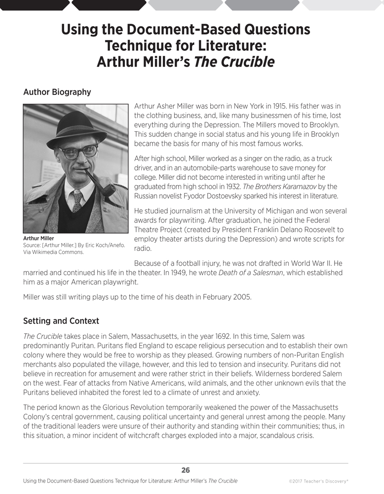 an analysis of the themes in the novel the crucible by arthur miller
