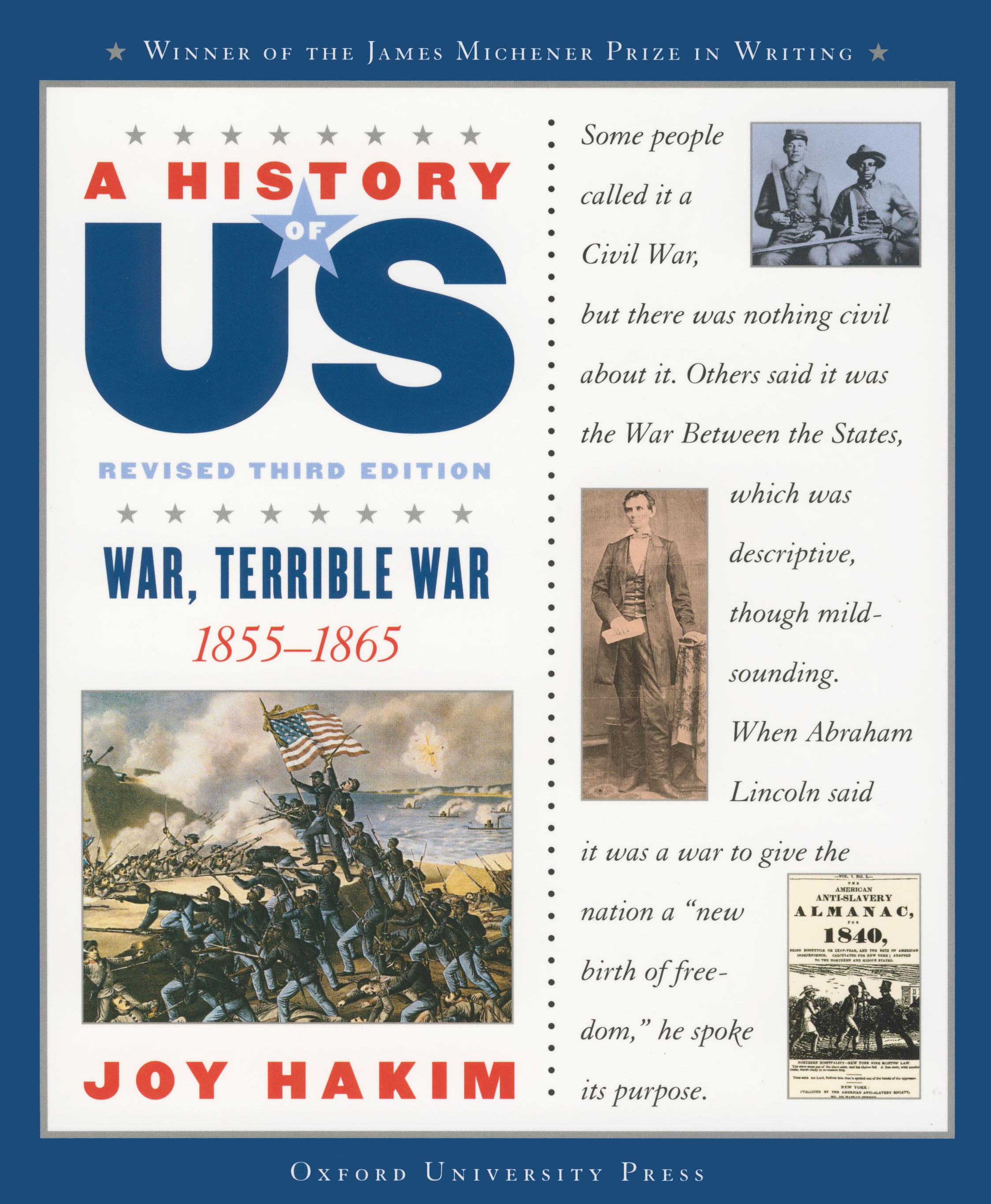 A History of US: War, Terrible War, 1855-1865 Reference Book