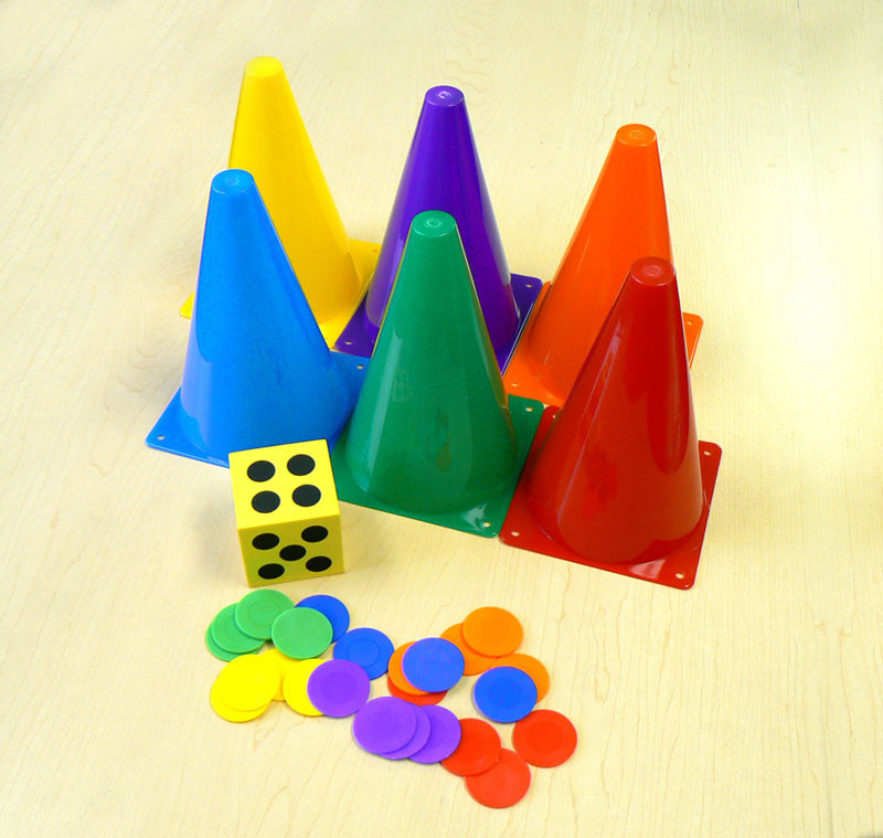 Oversized Game Piece Set