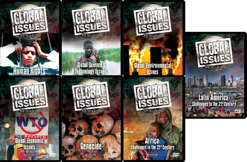 Global Issues Set Of 7 Dvd