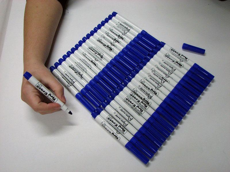 Blue Dry Erase Marker