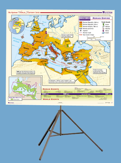 Early World History 16-map Set On Tripod