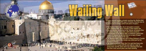 Wailing Wall Panoramic Poster
