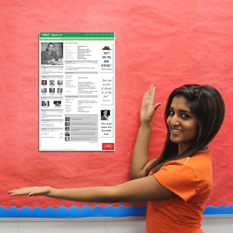 Farcebook world history posters teacher 39 s discovery for Farcical in spanish