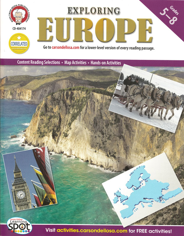 Exploring Europe Activity Book