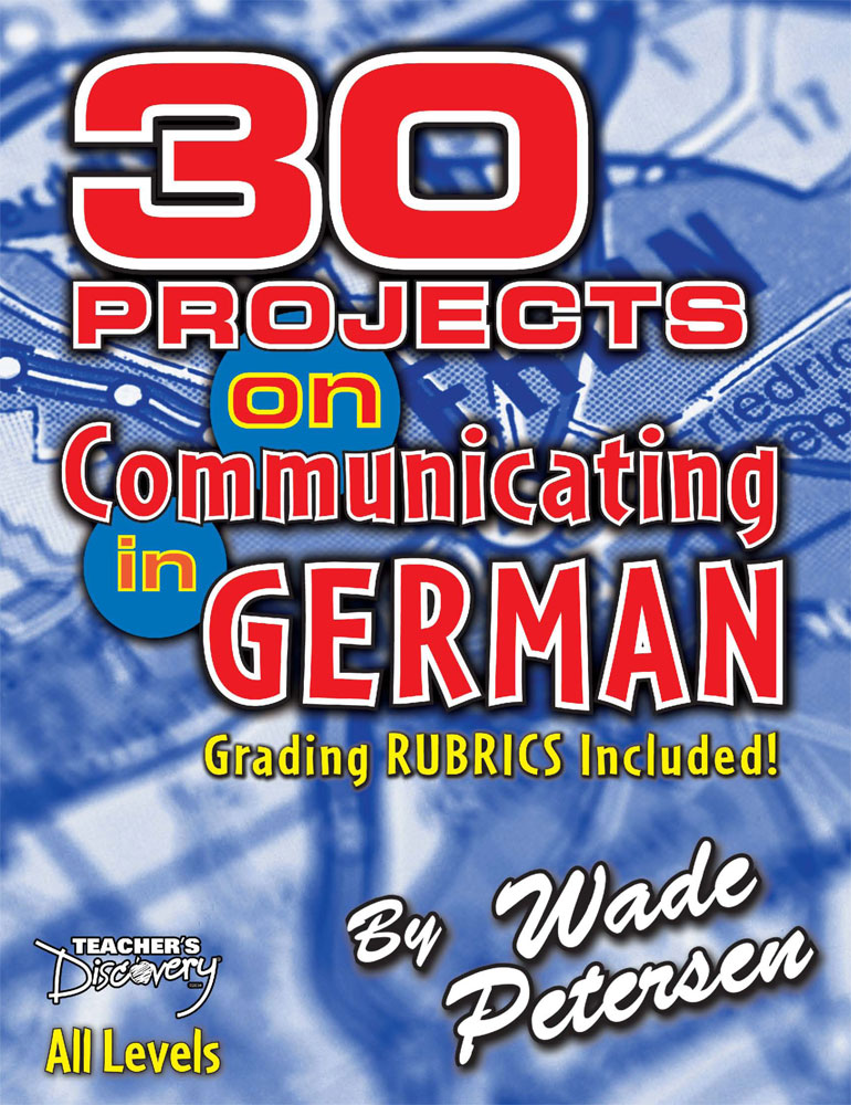 30 Projects on Communicating in German Book