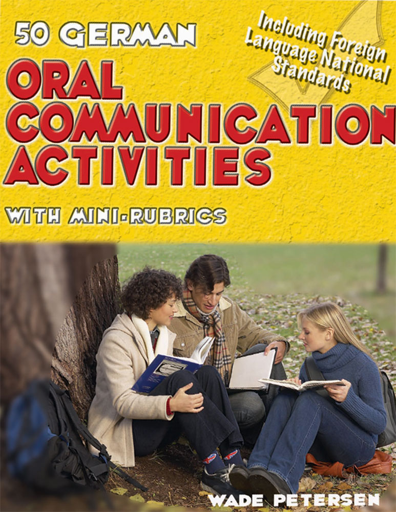 50 German Oral Communication Activities Book