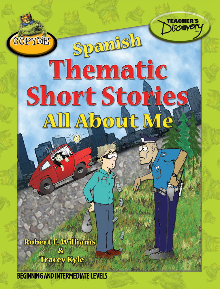 Spanish Thematic Short Stories About Me Book
