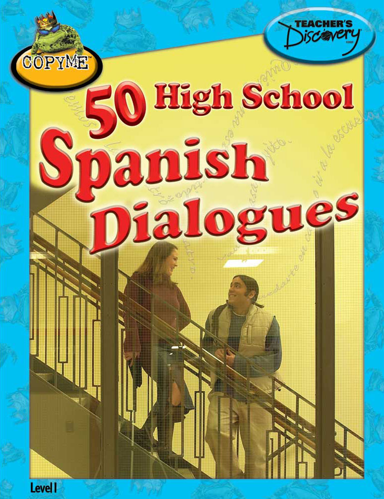 50 High School Spanish Dialogues Book