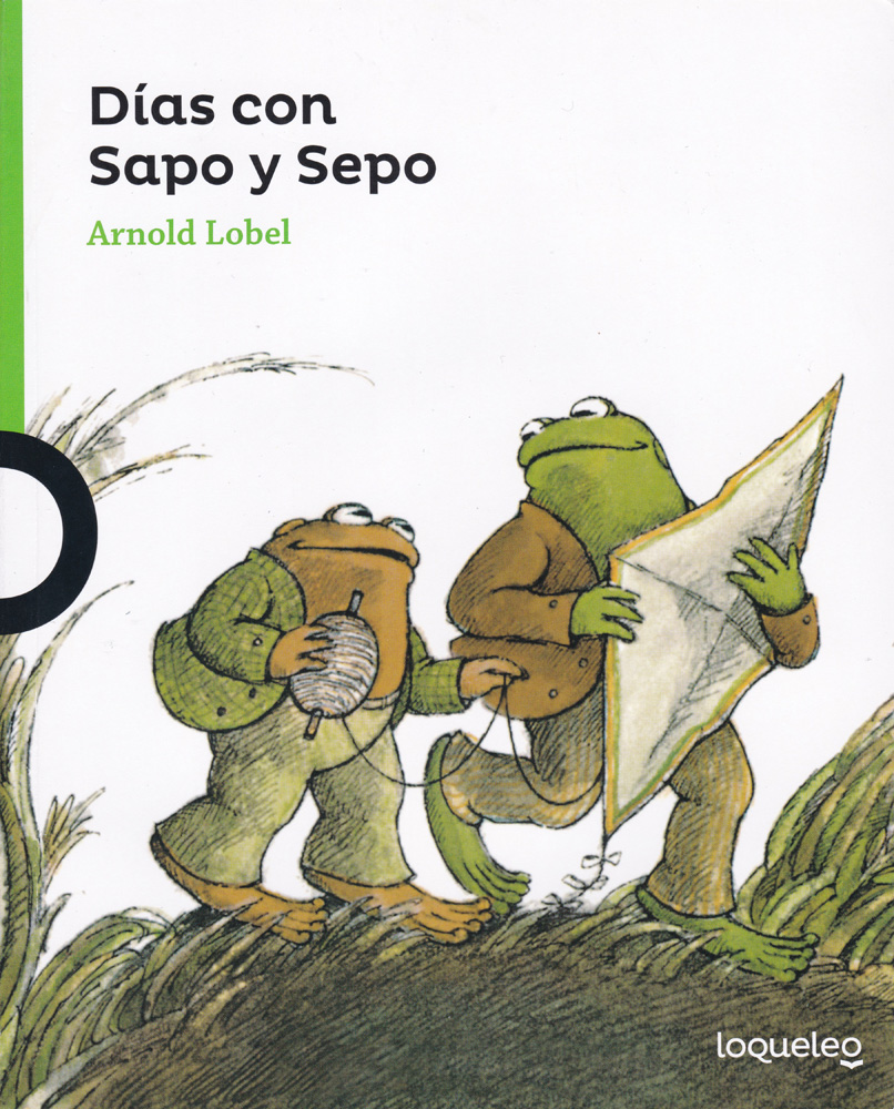 Dias con Sapo y Sepo Spanish Book