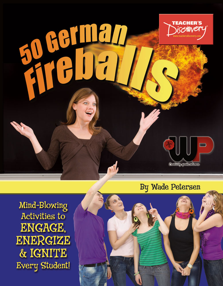 50 German Fireballs: Mind-Blowing Activities Book