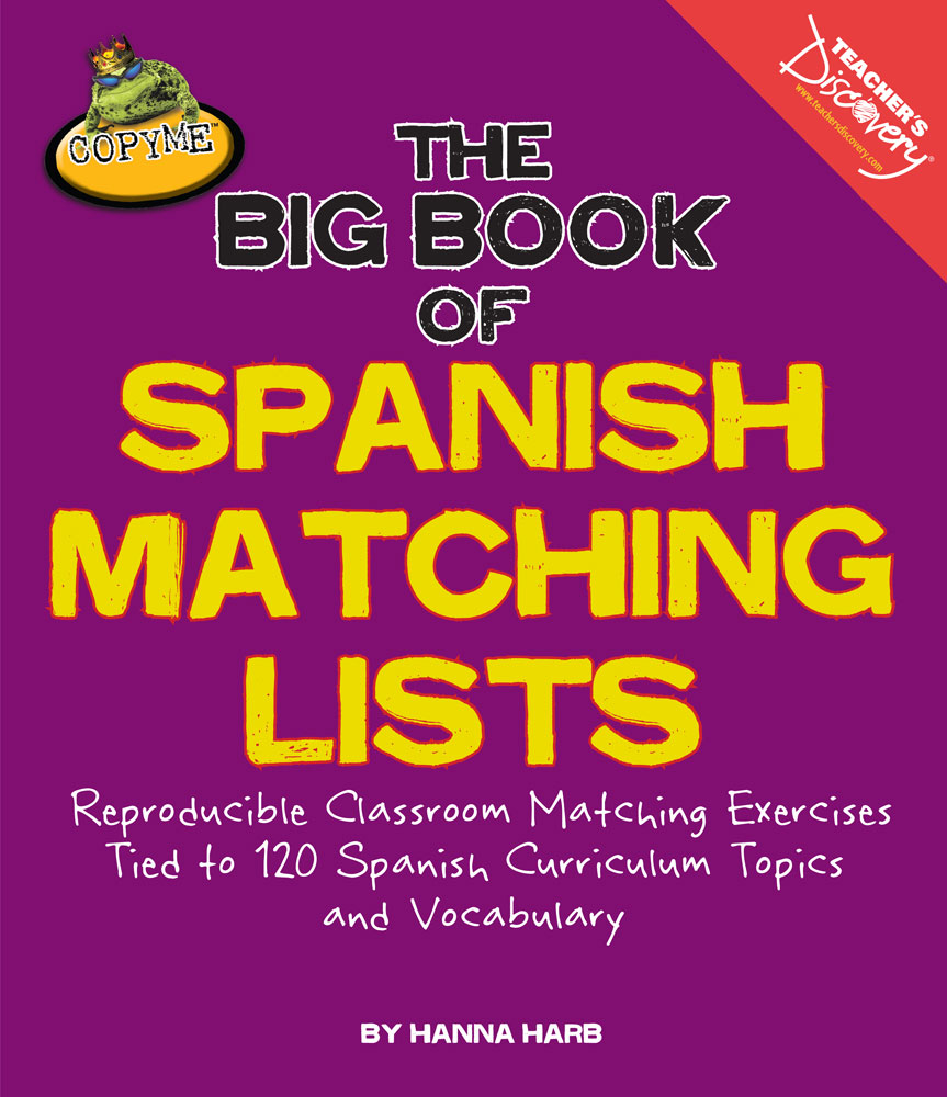 The Big Book of Spanish Matching Lists
