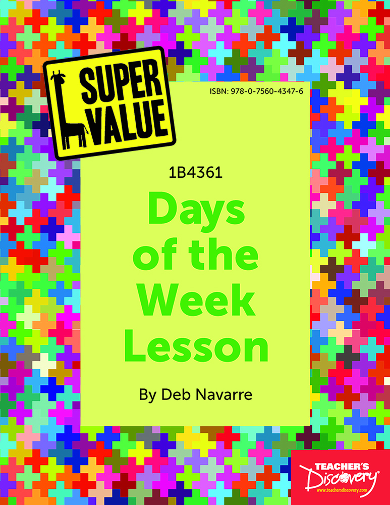 Super Value Days of the Week Lesson Spanish