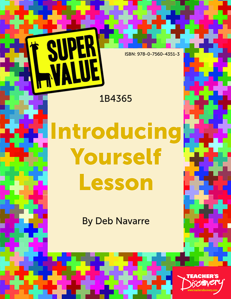Super Value Introducing Yourself Lesson Spanish