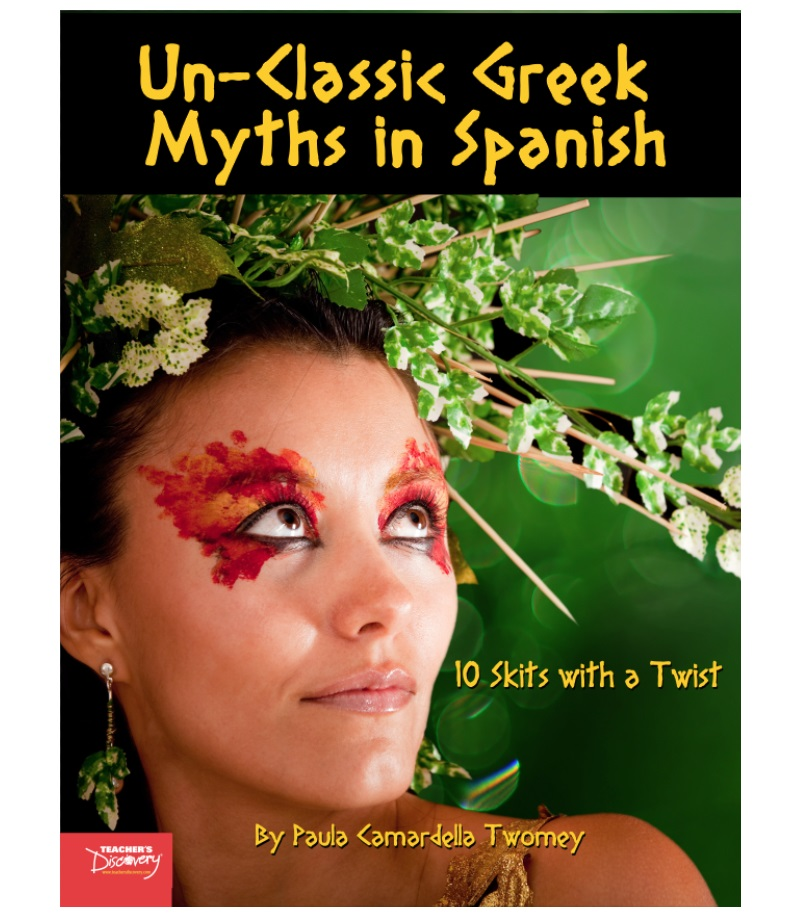 Un-Classic Greek Myths in Spanish Book