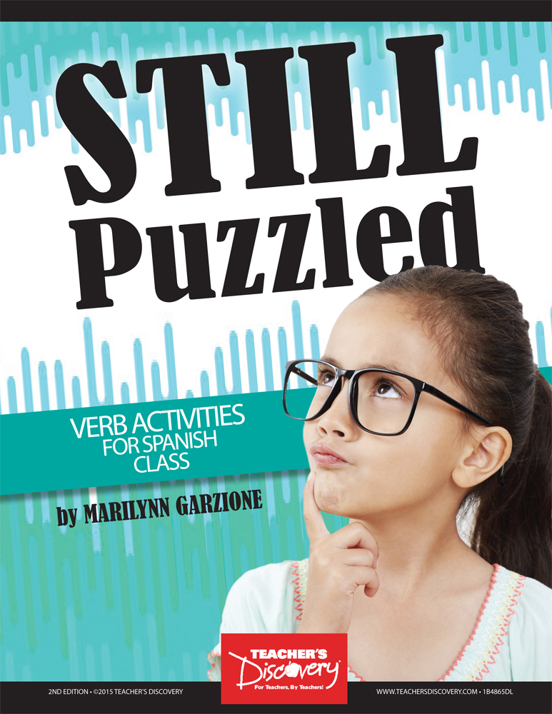 Still Puzzled: Verb Activities for Spanish Class Download