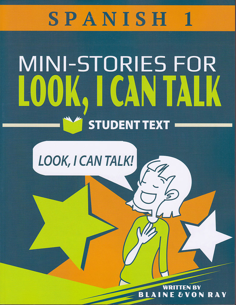 Mini-Stories for Look, I Can Talk Spanish 1