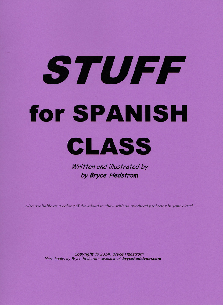 Stuff for Spanish Class Book
