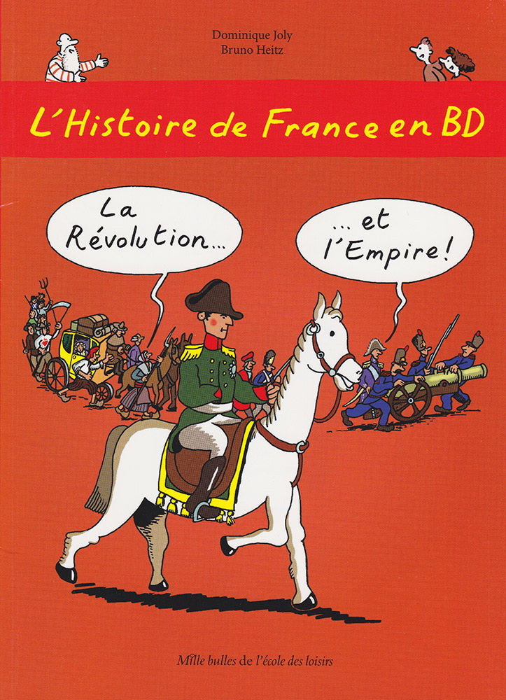 L'Histoire de France en BD Volume 5 Graphic Novel
