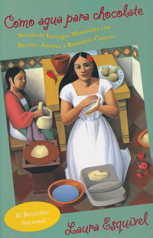 Como agua para chocolate Spanish Book